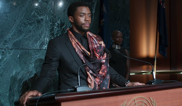 Black Panther T'challa addresses the UN