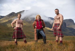 Joanna Lumley in Scotland for Joanna Lumley's Home Sweet Home
