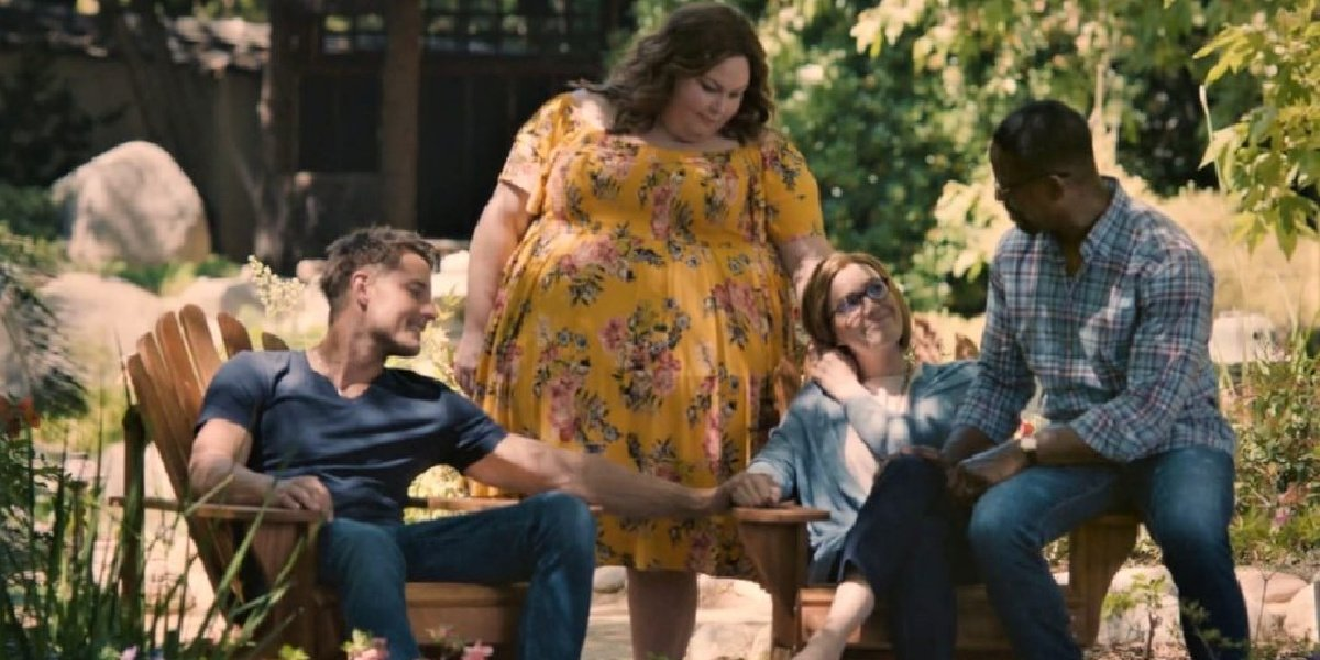 Kate, Kevin, Randall and Rebecca in the Season 5 finale of This Is Us.