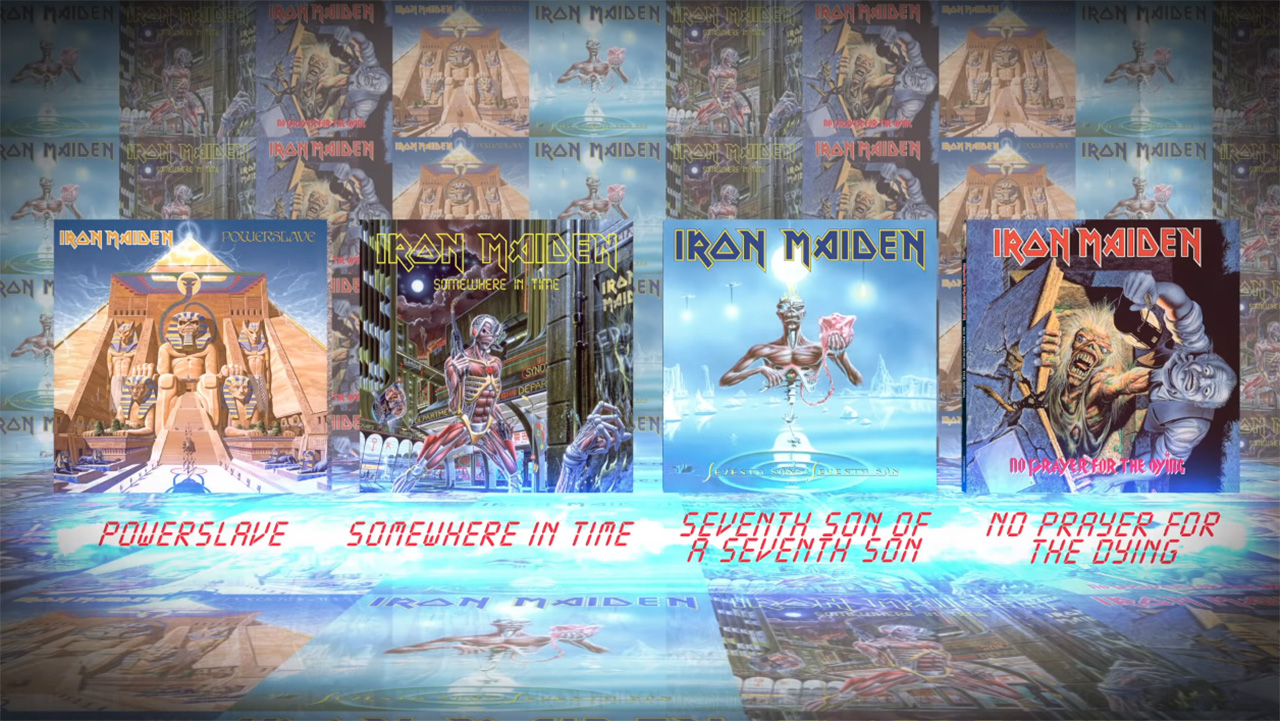 Iron Maiden launch video for the latest in their Studio Collection Remastered series
