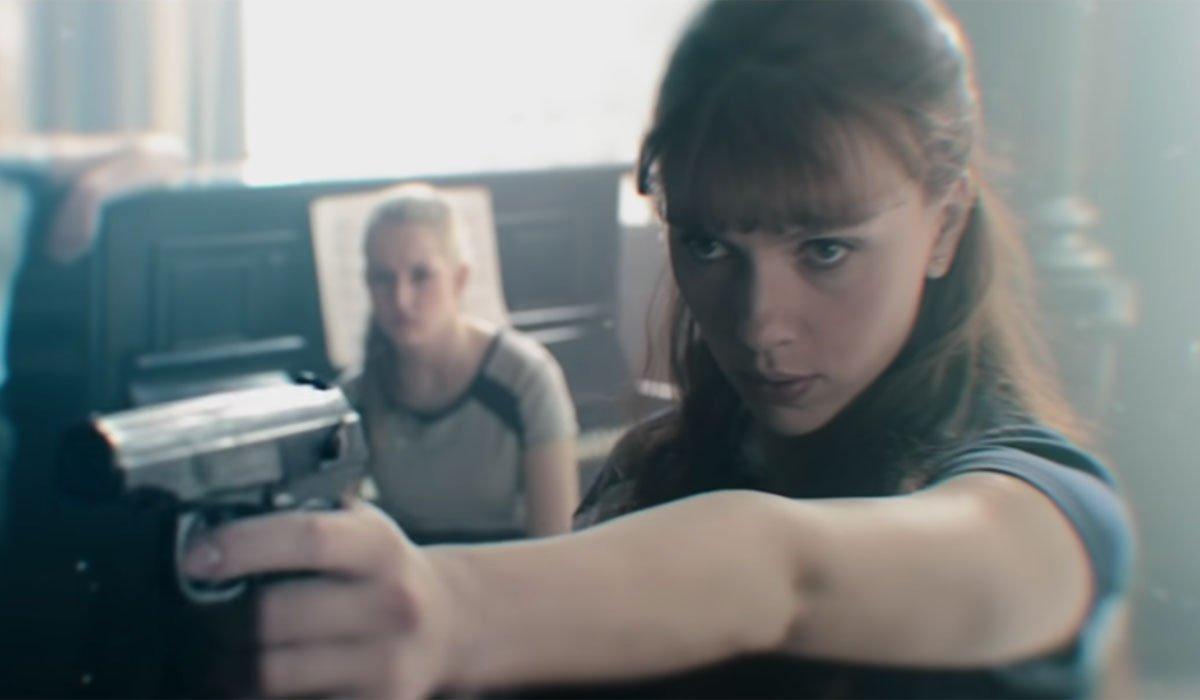 black widow trailer flashback scene