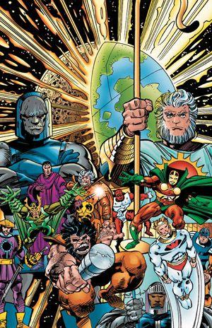Top 10 Space-Faring Superheroes   Space
