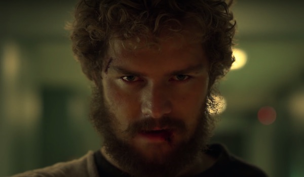 Iron Fist with bloody face