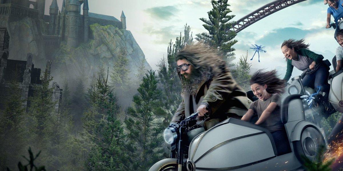 Disneyland Exec Shades Hagrid Ride In Galaxy's Edge Defense