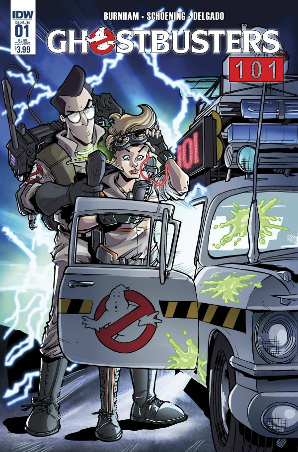 Ghostbusters 101 logo