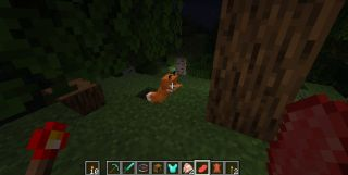 How to tame a Fox in Minecraft and make a new friend