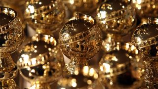 Golden Globes trophies
