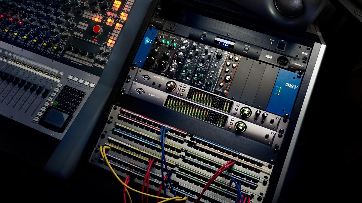 5 reasons why tracking through a Universal Audio Apollo X interface