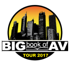 Stampede's 2017 Big Book of AV Tour Heads to San Diego