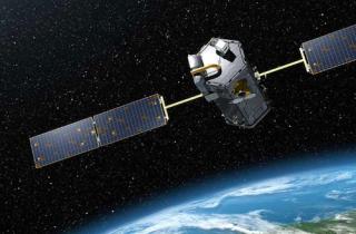 Rendering of NASA's Orbiting Carbon Observatory
