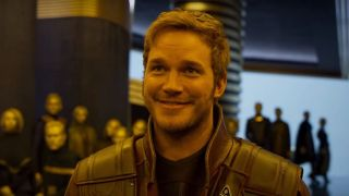 Chris Pratt might seem like the one Guardians of the Galaxy member who is easiest to get ready for filming, but not so much.