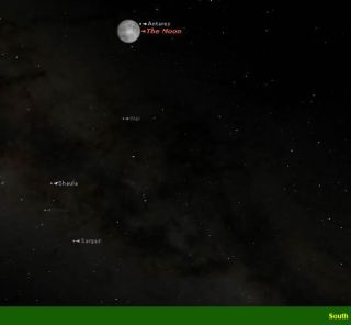 Moon to Block Bright Star Antares June 6