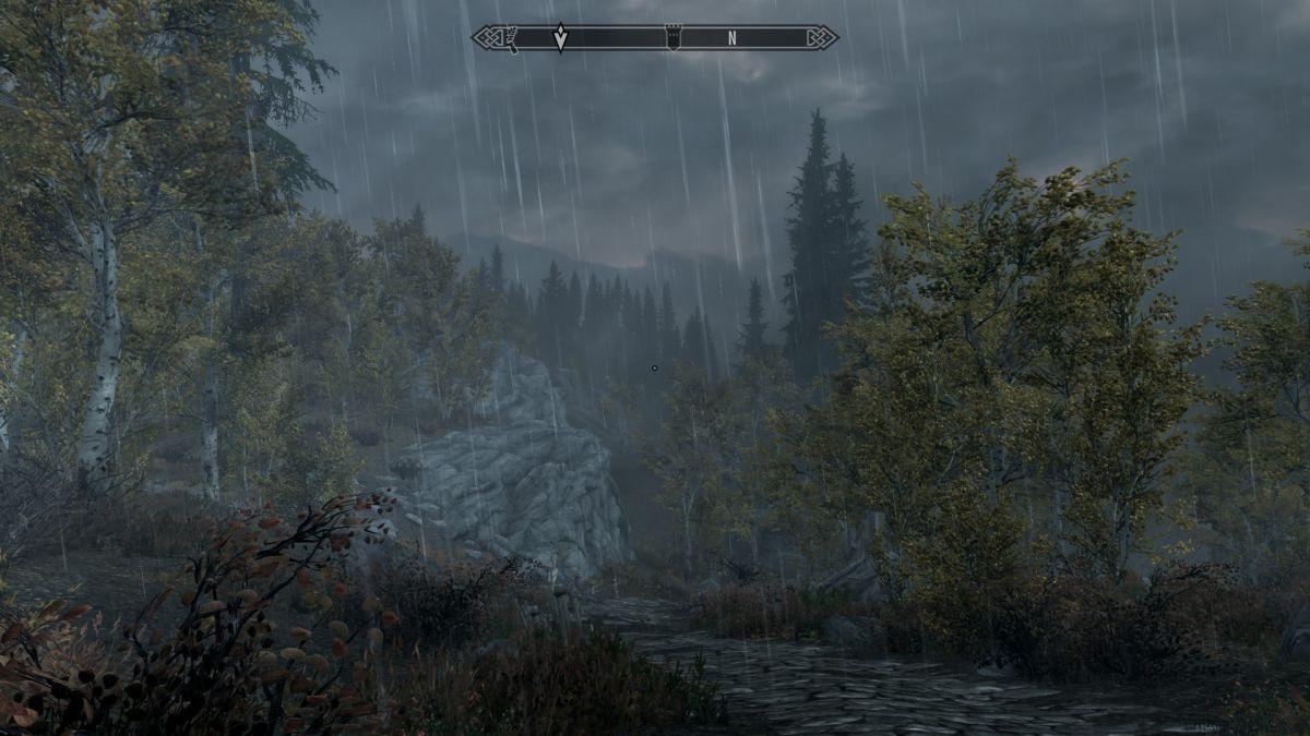 Skyrim super-realistic rainfall mod brings beautifully awful weather