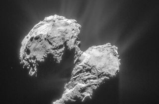 Rosetta Spacecraft Gets Confused by Rough Comet 'Weather