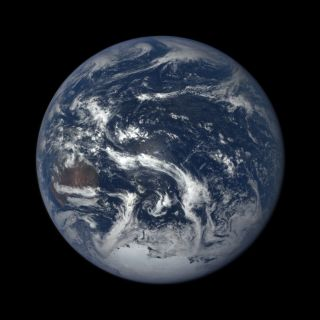 Earth Seen by DSCOVR Satellite