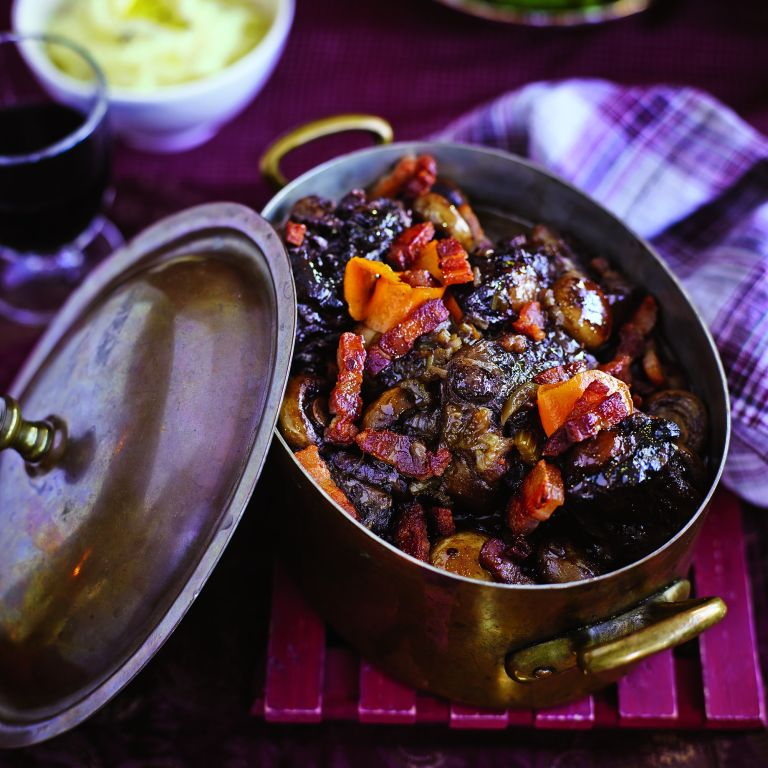Slow-cooked oxtail