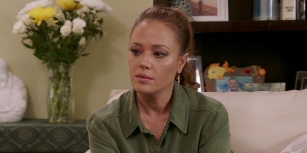 leah remini interviewing someone on scientology and the aftermath