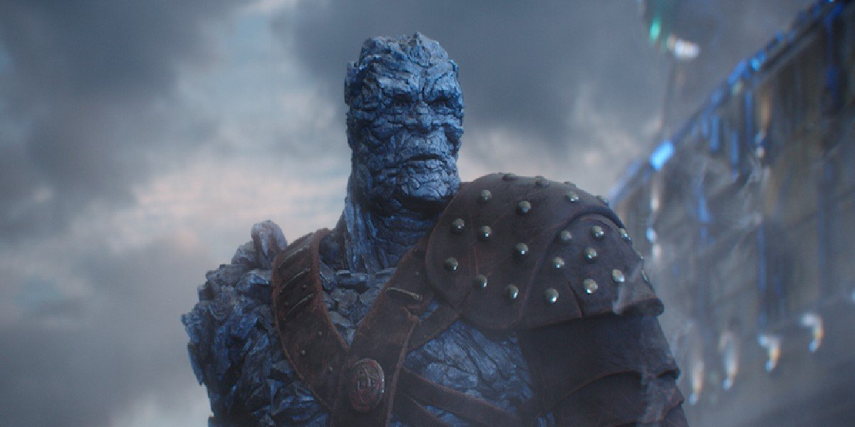 Korg in Thor: Raganarok and Avengers: Endgame 2019