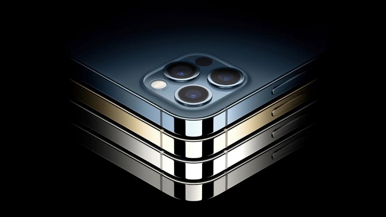iPhone 12 stack