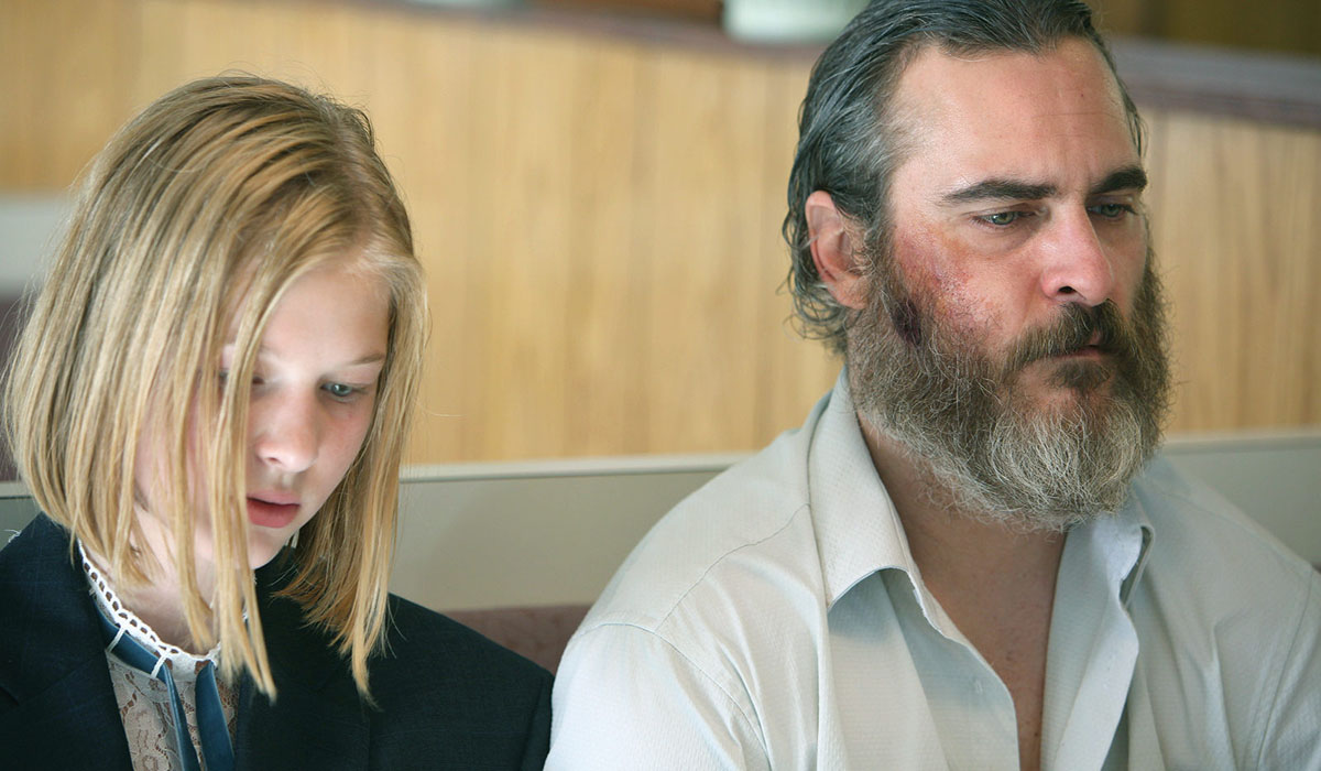 Ekaterina Samsonov and Joaquin Phoenix You Were Never Really Here Amazon Studios