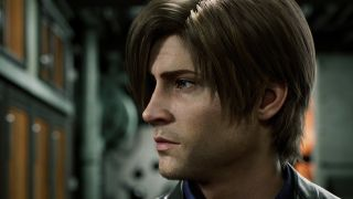 Leon Kennedy in the Resident Evil Netflix series Infinite Darkness