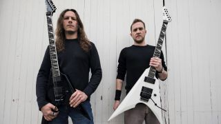 Adam Carroll and Chase Becker of Warbringer