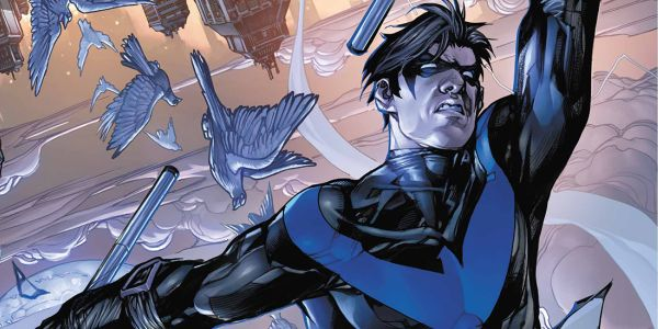 Nightwing comic book panel