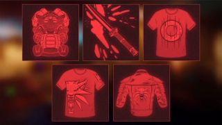 Cyberpunk 2077 crossover items