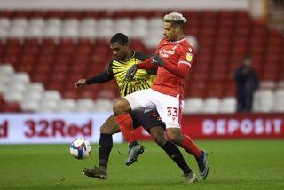 Nottingham Forest v Watford – Sky Bet Championship – The City Ground