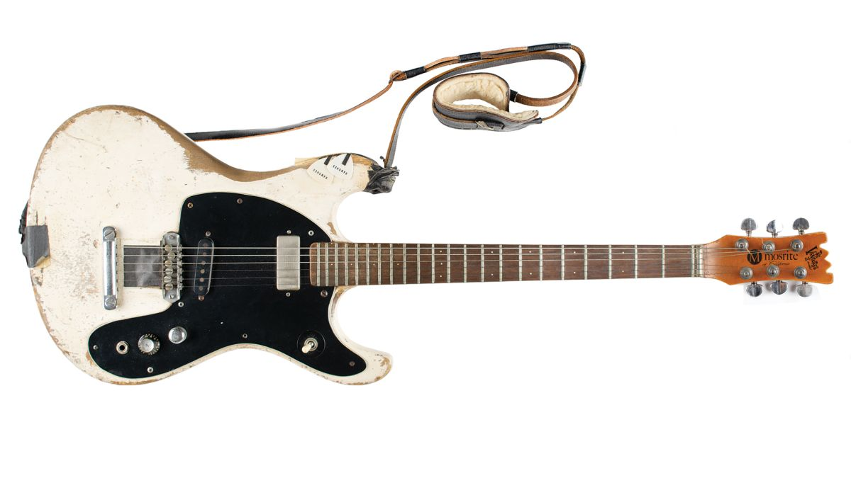 Johnny Ramone's 1965 Mosrite Ventures II Guitar Sells for $937,500 at Auction