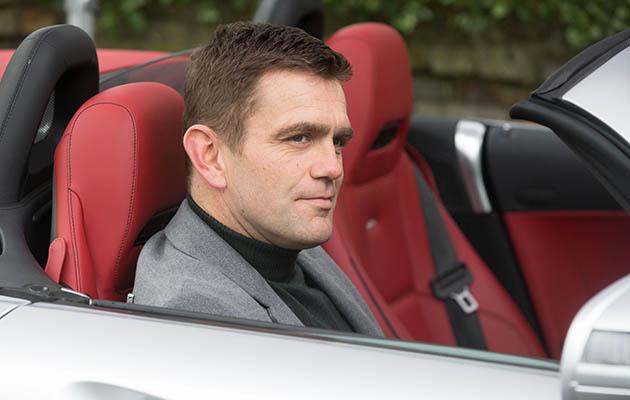Jack Branning tries to impress Mel Owen with a flash car!
