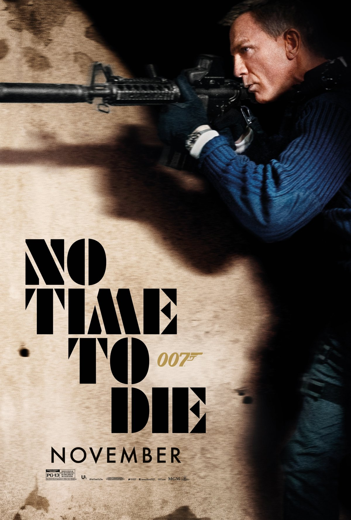No Time To Die Bond storming Safin's hideout