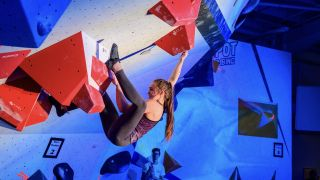 Hannah Smith, Rab/Lowe Alpine athlete and member of the GB Climbing Team