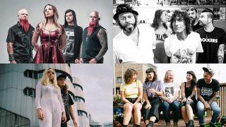 Devilskin, Jordan Luck Band, Earth Tongue, Dick Move