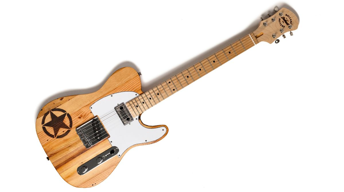 Jeep Teams Up with Wallace Detroit Guitars to Create Electric Guitar Made of 100-Year-Old Wood