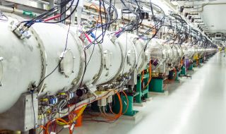 The Spallation Neutron Source at Oak Ridge National Laboratory generates intense pulsed neutron beams for scientific research and industrial development, and in the process also produces neutrinos.