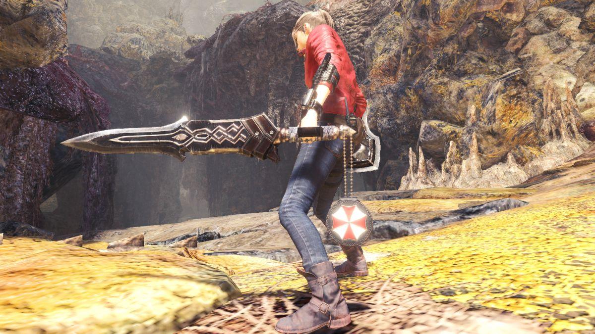 Resident Evil 2 Crossover Event Brings Mr X To Monster Hunter