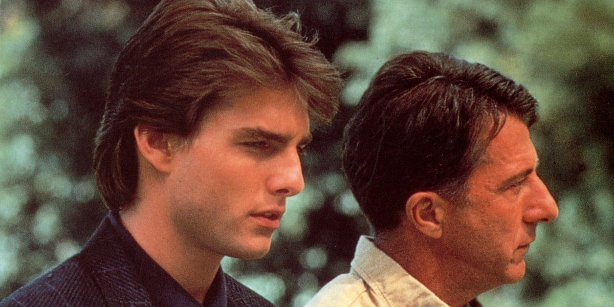 Tom Cruise on the left