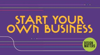Start your own business graphic