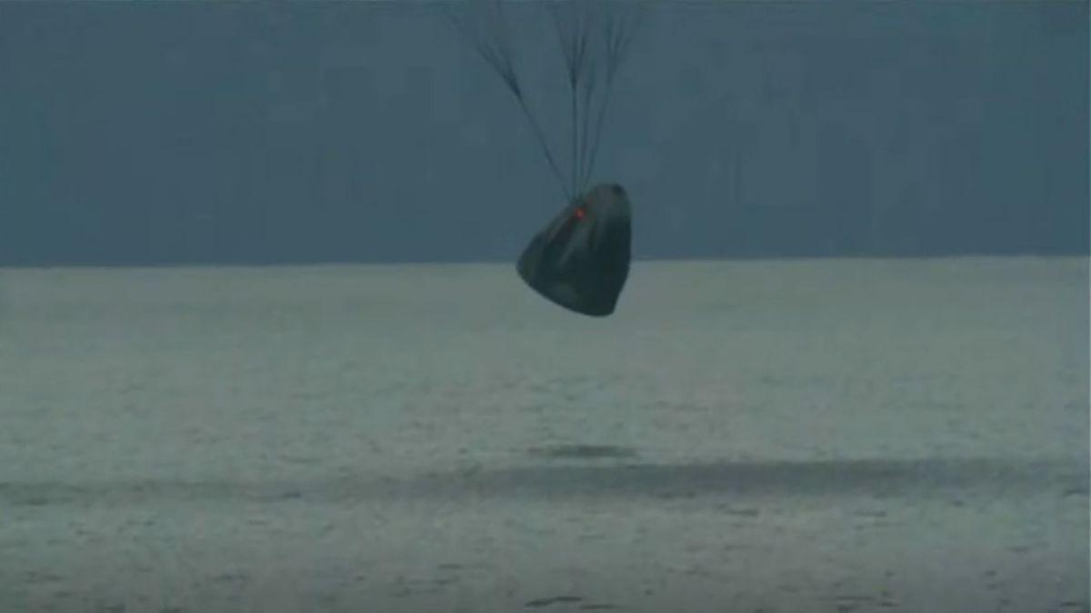 SpaceX Inspiration4 astronauts return to Earth with historic splashdown off Florida coast