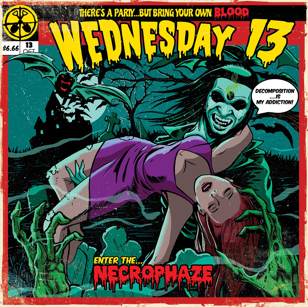 Wednesday 13 hook up with Alice Cooper for Necrophaze - watch ghoulish video | Louder