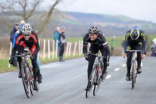 Tom Murray and Dean Downing finish, Clayton Velo Classic Handicap 2011
