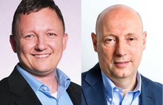 Axel Wells and Kevin Billings of Pegasystems