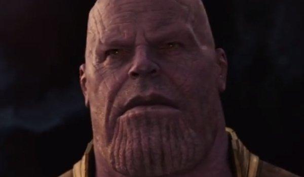 Thanos The Avengers Infinity War