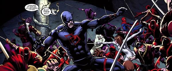 The Beast Possessing Daredevil Marvel Comics