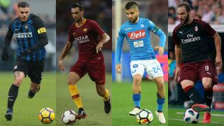Serie A 2018 19 Can Napoli Roma Inter Or Ac Milan Overhaul Juventus Fourfourtwo