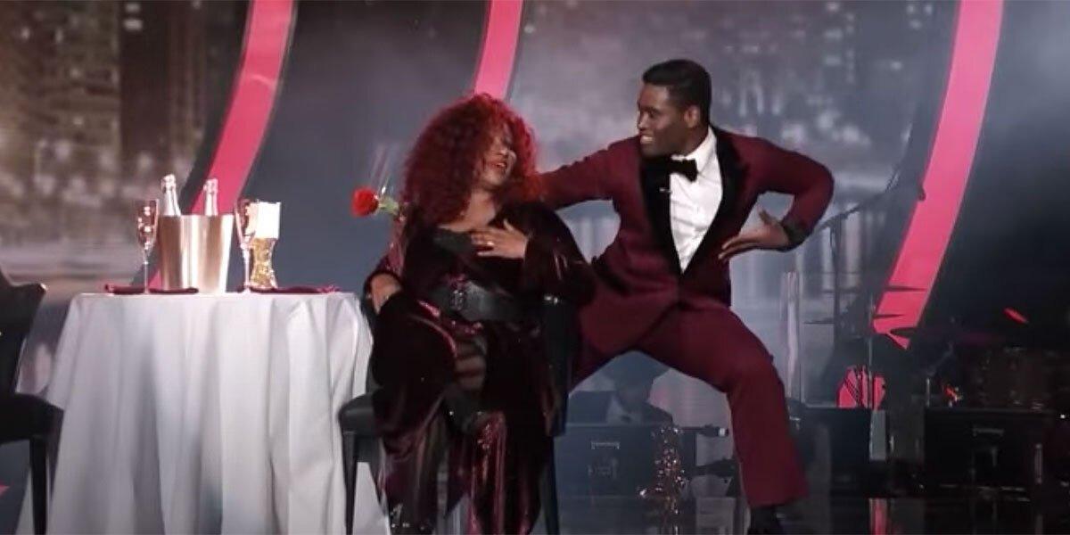 Chaka Khan and Keo Motsepe on Dancing With The Stars