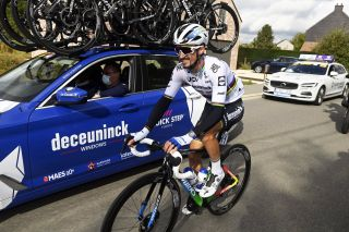 Road race world champion Julian Alaphilippe (Deceuninck-QuickStep)