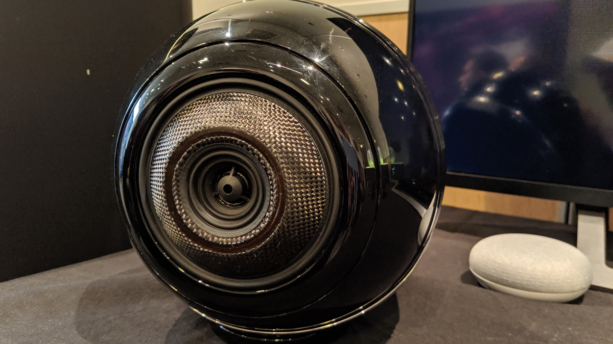 Cabasse challenges Naim with new Pearl Akoya wireless speaker