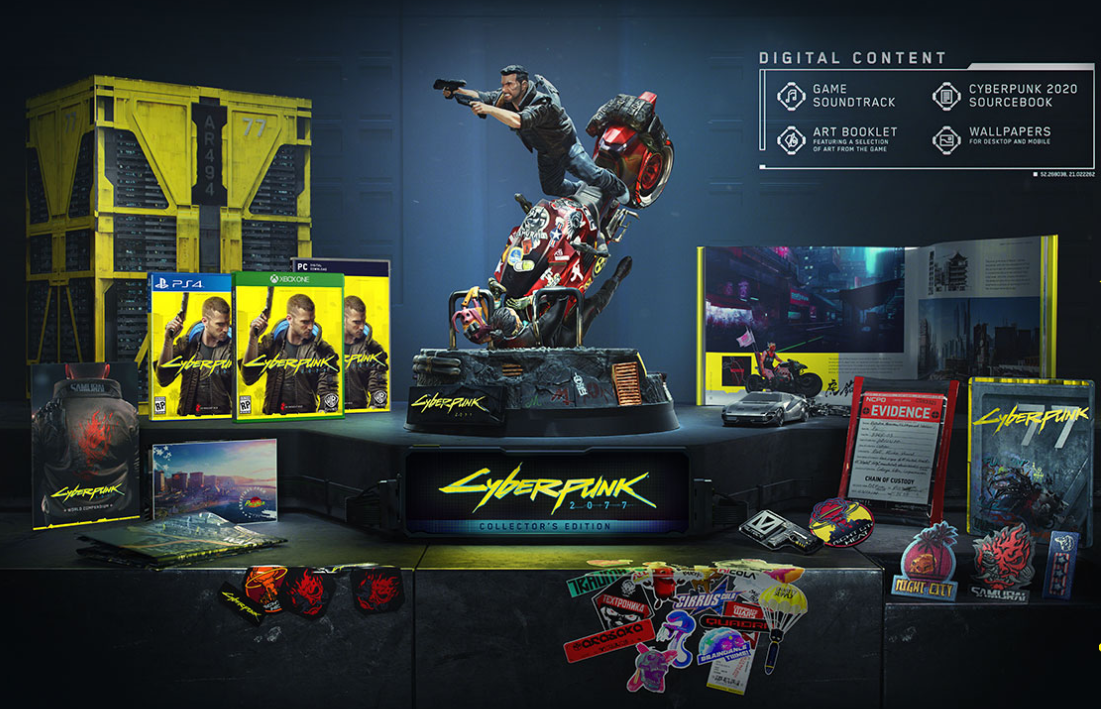 Cyberpunk 2077 Collector's Edition is coming to PC: Here's what it